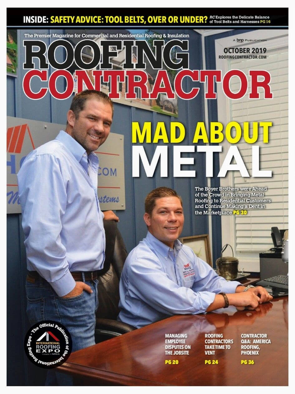 Roofing Contractor Magazine - Oct 19